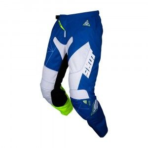 Shot Crossbroek Contact Infinite Blue/White/Neon Yellow