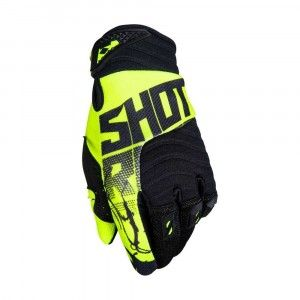 Shot Crosshandschoenen Contact Venom Neon Yellow
