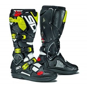 Sidi Crosslaarzen Crossfire 3 SRS White/Black/Yellow Fluo