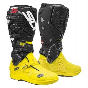 Sidi Crosslaarzen Crossfire 3 SRS TC222 Yellow Fluo/Black