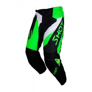 Shot Crossbroek Devo Alert Neon Green/Black