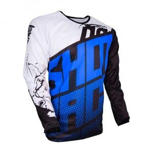 Shot Kinder Crossshirt Devo Venom Blue