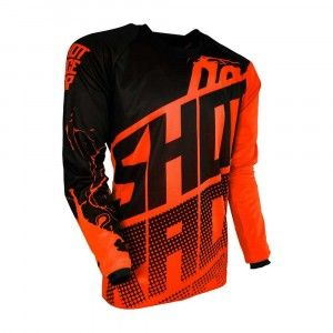 Shot Kinder Crossshirt Devo Venom Neon Orange