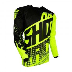 Shot Kinder Crossshirt Devo Venom Neon Yellow