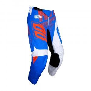 Shot Kinder Crossbroek Devo Venom Blue/White/Neon Orange