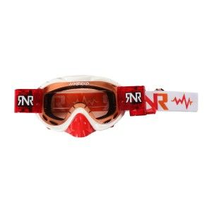 Rip 'n Roll Crossbril Hybrid Roll-Off White/Red