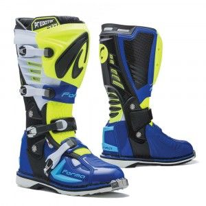 Forma Crosslaarzen MX Predator 2.0 Blue/Fluor Yellow