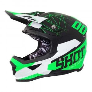 Shot Crosshelm Furious Spectre Black/Green Matt