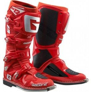 Gaerne SG-12 Crosslaarzen Solid Red