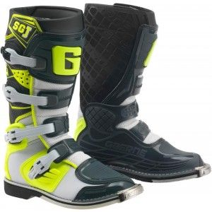 Gaerne SG-J Kinder Crosslaarzen Black/Fluor Yellow