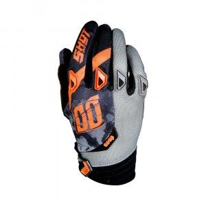 Shot Crosshandschoenen Devo Squad Grey/Neon Orange