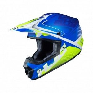 HJC CS-MX II Crosshelm Ellusion Blue