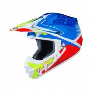 HJC CS-MX II Crosshelm Ellusion Blue/Red