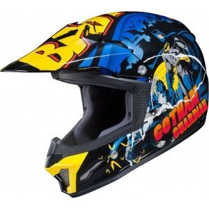 HJC Kinder Crosshelm CL-YX 2 Batman Comics