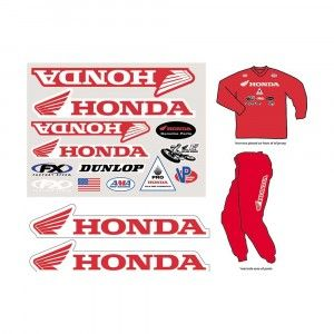 Factory Effex Honda Iron On