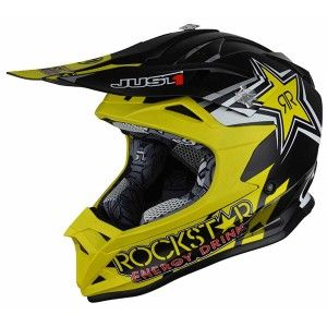 Just1 Kinder Crosshelm J32 Pro Rockstar