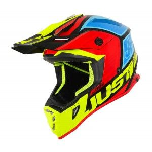 Just1 J38 Crosshelm Blade Yellow/Red/Blue/Black Gloss