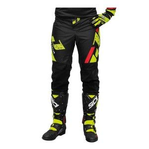 Jopa Kinder Crossbroek Capital Neon Yellow/Black