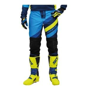 Jopa Crossbroek MX Devision Blue/Neon Yellow