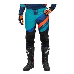 Jopa Crossbroek MX Devision Navy/Aqua