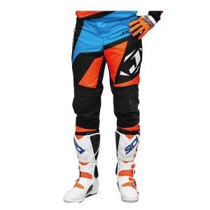 Jopa Crossbroek MX Divergent Orange/Light Blue