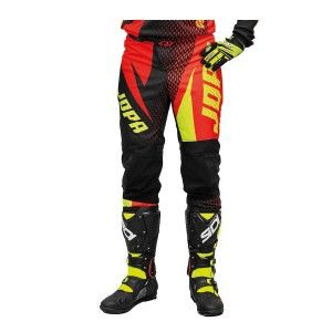 Jopa Kinder Crossbroek Elusion Neon Yellow/Red