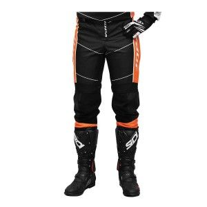 Jopa Kinder Crossbroek Iron Black/Orange