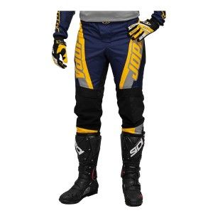 Jopa Kinder Crossbroek Looper Grey/Navy/Yellow