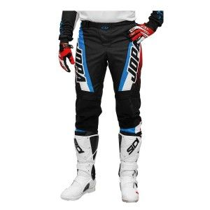 Jopa Crossbroek MX Looper White/Red/Blue