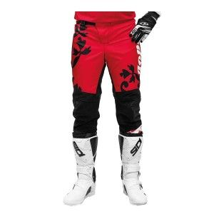 Jopa Crossbroek MX Luna Crimson/Flower