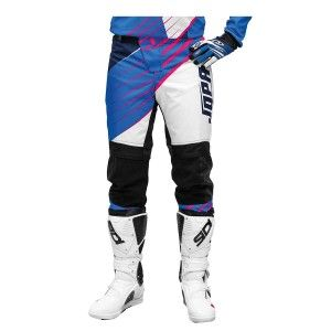 Jopa Kinder Crossbroek Strife White/Blue/Magenta