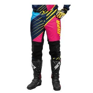 Jopa Crossbroek MX Strife Pink/Navy/Yellow