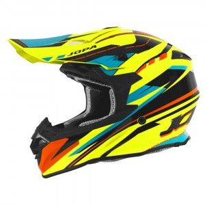 Jopa Crosshelm Hunter Revolt Fluo Yellow/Orange