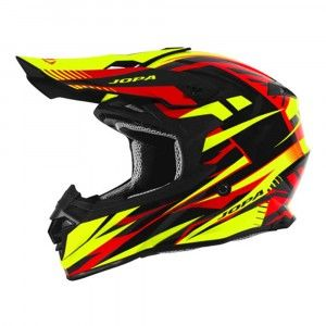 Jopa Crosshelm Hunter Legacy Fluo Yellow/Red