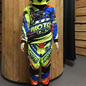 Jopa Kinder Crossoutfit Limited Edition 2018 Neon Yellow/Orange/Blue