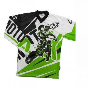 Jopa Kinder Shirt Moto-X Green