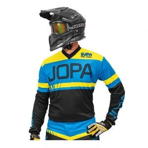 Jopa Crossshirt Eighty3 Black/Blue