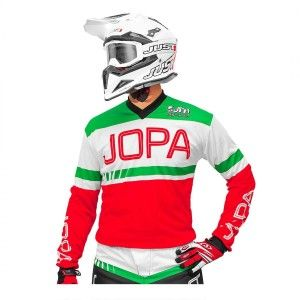 Jopa Crossshirt Eighty3 Red/Green