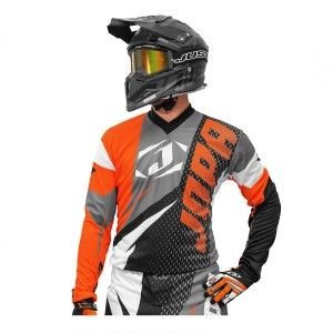 Jopa Kinder Crossshirt Elusion Orange/Black
