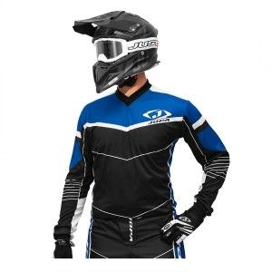 Jopa Crossshirt Iron Black/Blue