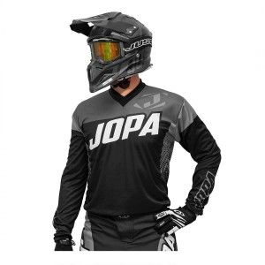 Jopa Kinder Crossshirt Looper Black/Grey