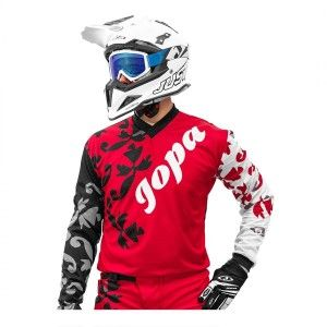 Jopa Crossshirt Luna Crimson/Flower