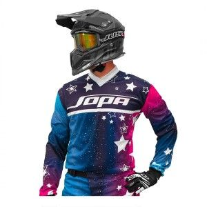 Jopa Kinder Crossshirt Luna Blue/Galaxy
