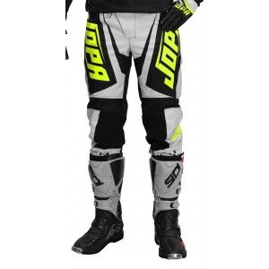 Jopa Kinder Crossbroek Charge Grey/Neon Yellow