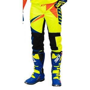 Jopa Kinder Crossbroek Dust-Off Neon Yellow/Orange
