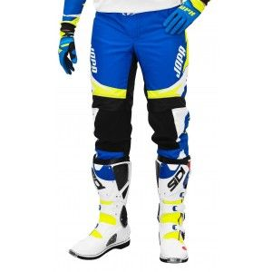 Jopa Kinder Crossbroek Recon Blue/Neon Yellow
