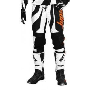 Jopa Kinder Crossbroek Rush Black/White/Orange