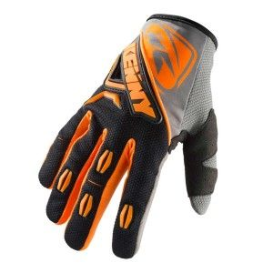 Kenny Handschoenen Titanium Black/Neon Orange