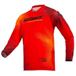Kenny Crossshirt Performance Paradise Red