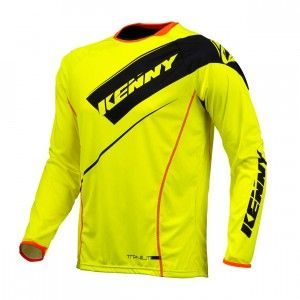 Kenny Shirt Titanium Neon Yellow-L